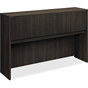 "basyx® by HON® BL Series 60""W Laminate Stack-On Hutch with 4 Doors Espresso Finish"