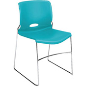 HON® Armless Stacking Chair - Plastic  - Calypso - Olson Series