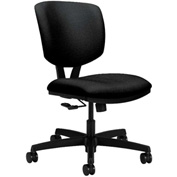 HON® Armless Task Chair - Fabric - Low Back - Black - Volt Series