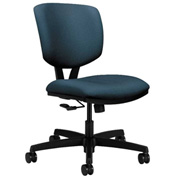 HON® Armless Task Chair - Fabric - Low Back - Cerulean - Volt Series