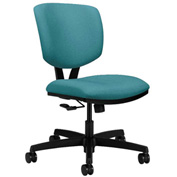 HON® Armless Task Chair - Fabric - Low Back - Glacier - Volt Series