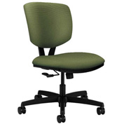 HON® Armless Task Chair - Fabric - Low Back - Clover - Volt Series