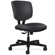 HON® HON5723NT19T Volt Armless Task Chair Charcoal Polyester