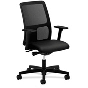 HON® HONIT102NT10 Ignition Adjustable Arm Low-Back Task Chair Black