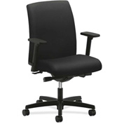 HON® HONIT103NT10 Ignition Adjustable Arm Low-Back Task Chair Black Polyester
