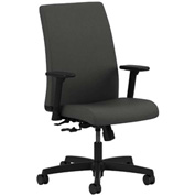 HON® HONIT105CU19 Ignition Adjustable Arm Low-Back Task Chair Iron Ore Polyester