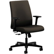 HON® HONIT105CU49 Ignition Adjustable Arm Low-Back Task Chair Espresso Polyester