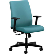 HON® HONIT105CU96 Ignition Adjustable Arm Low-Back Task Chair Glacier Polyester