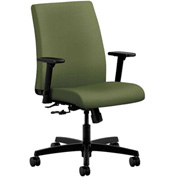 HON® HONIT105NR74 Ignition Adjustable Arm Low-Back Task Chair Clover Polyester