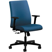 HON® HONIT105NR90 Ignition Adjustable Arm Low-Back Task Chair Regatta Polyester
