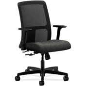 HON® HONIT106AB12 Ignition Adjustable Arm Low-Back Task Chair Gray