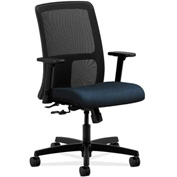 HON® HONIT106AB90 Ignition Adjustable Arm Low-Back Task Chair Blue