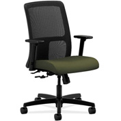 HON® HONIT106CU82 Ignition Adjustable Arm Low-Back Task Chair Olivine