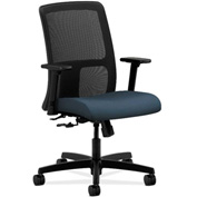 HON® HONIT106CU90 Ignition Adjustable Arm Low-Back Task Chair Cerulean