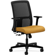 HON® HONIT106NR26 Ignition Adjustable Arm Low-Back Task Chair Mustard