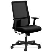 HON® HONIW101AB10 Ignition Adjustable Arm Mid-Back Task Chair Black
