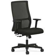 HON® HONIW101CU10 Ignition Adjustable Arm Mid-Back Task Chair Black