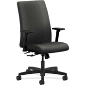 HON® HONIW102AB12 Ignition Adjustable Arm Mid-Back Task Chair Gray Olefin