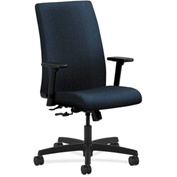 HON® HONIW102AB90 Ignition Adjustable Arm Mid-Back Task Chair Blue Olefin