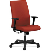 HON® HONIW102CU42 Ignition Adjustable Arm Mid-Back Task Chair Poppy Polyester
