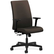 HON® HONIW102CU49 Ignition Adjustable Arm Mid-Back Task Chair Espresso Polyester