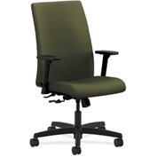 HON® HONIW102CU82 Ignition Adjustable Arm Mid-Back Task Chair Olivine Polyester