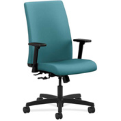 HON® HONIW102CU96 Ignition Adjustable Arm Mid-Back Task Chair Glacier Polyester