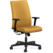 HON® HONIW102NR26 Ignition Adjustable Arm Mid-Back Task Chair Mustard Polyester