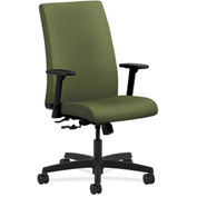 HON® HONIW102NR74 Ignition Adjustable Arm Mid-Back Task Chair Clover Polyester