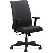 HON® HONIW102NT19 Ignition Adjustable Arm Mid-Back Task Chair Charcoal Polyester