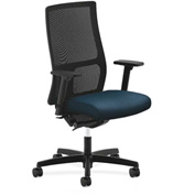 HON® HONIW103AB90 Ignition Adjustable Arm Mid-Back Task Chair Blue
