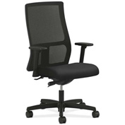 HON® HONIW103NT10 Ignition Adjustable Arm Mid-Back Task Chair Black