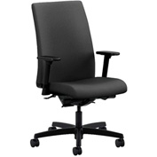 HON® Task Chair with Arms and Synchro Tilt - Fabric - Mid Back - Iron Ore - Ignition Series