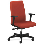HON® Task Chair with Arms and Synchro Tilt - Fabric - Mid Back - Poppy - Ignition Series