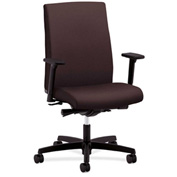 HON® Task Chair with Arms and Synchro Tilt - Fabric - Mid Back - Espresso - Ignition Series