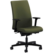 HON® Task Chair with Arms and Synchro Tilt - Fabric - Mid Back - Olivine - Ignition Series