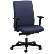 HON® Task Chair with Arms and Snychro Tilt - Fabric - Mid Back - Cerulean - Ignition Series