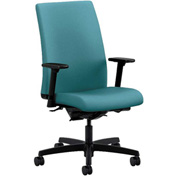 HON® Task Chair with Arms and Synchro Tilt - Fabric - Mid Back - Glacier - Ignition Series