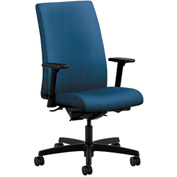 HON® Task Chair with Arms and Synchro Tilt - Fabric - Mid Back - Blue - Ignition Series