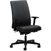 HON® Task Chair with Arms and Synchro Tilt - Fabric - Mid Back - Charcoal - Ignition Series