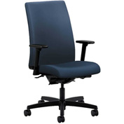 HON® Task Chair with Arms and Synchro Tilt - Polyurethane - Mid Back - Ocean - Ignition Series