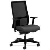 HON® Mesh Task Chair with Arms & Synchro Tilt - Fabric - Mid Back - Iron Ore - Ignition Series