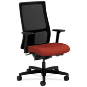HON® Mesh Task Chair with Arms & Synchro Tilt - Fabric - Mid Back - Poppy - Ignition Series