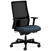 HON® Mesh Task Chair with Arms & Synchro Tilt - Fabric - Mid Back - Cerulean - Ignition Series
