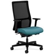 HON® Mesh Task Chair with Arms & Synchro Tilt - Fabric - Mid Back - Glacier - Ignition Series