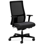 HON® Mesh Task Chair with Arms & Synchro Tilt - Fabric - Mid Back - Charcoal - Ignition Series
