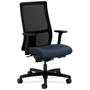 HON® Mesh Task Chair w/ Arms & Synchro Tilt - Fabric - Mid Back - Cerulean - Ignition Series