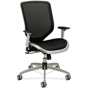 HON® HONMH02MST1C Boda Adjustable Arm Task Chair Black/Titanium