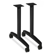 HON® Huddle Table Base Kit T-Style Black Finish 2 Bases per Kit