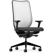HON® HONN102NR10 Nucleus Adjustable Arm Task Chair Onyx